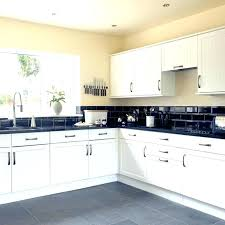 black and white kitchen tiles wall ideas worktop whi