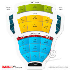 Tpac Andrew Jackson Seating Chart Thalia Mara Seating Chart Tickets Legends Of Southern Hip