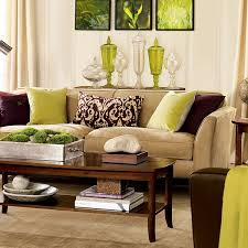 Green And Brown Living Room Ideas Brilliant With Additional Living