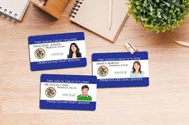Make Your Own Identification Card Id Cards Badges Plastic Printers