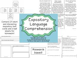 What Is Expository Text Comprehending And Paraphrasing Expository Texts Speechy