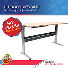 office desk tables. Image Is Loading Height-Adjustable-Desk-Sit-Stand-Office-Desks-Stand- Office Desk Tables
