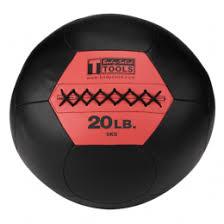 <b>Тренировочный мяч Body Solid</b> Wall <b>Ball</b> 20lb BSTSMB20 (9,1 кг ...