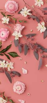 flower wallpaper for mobile phone. Wonderful Flower West Elm  Pink Flowers Mobile Wallpaper With Flower For Phone H