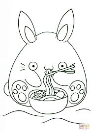 Disegno Di Coniglio Kawaii Da Colorare Disegni Da Colorare E