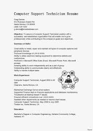 Beautiful Supply Technician Resume Objective Crest Entry Level