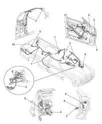 1999 dodge dakota wiring body accessories diagram 00i36307