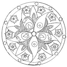 Small Picture Mandala domandalas fish sea star Domandalas Coloring pages for