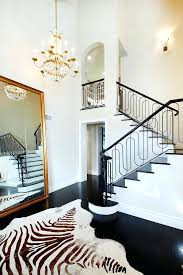 oversized floor mirror. Oversized Floor Mirror Staircase Transitional With Baseboards Chandelier Dark Image By Elite .