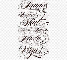 tattoo lettering script typeface font kajal aggarwal
