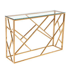 gold console table. Gold Console Table Color Golden Lightbox Moreview