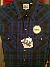 Ely Cattleman Western Shirt Long Sleeve 4 Shirts Lot Extra