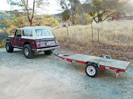 build a brilliantly simple tent trailer