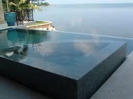 infinity pool edge. In Infinity Pool Edge