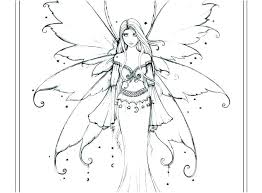 Fairy Colouring Pages Adults Printable Tale Coloring Free To Print