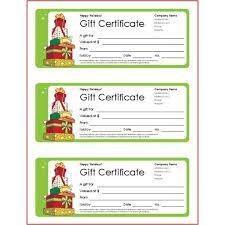 Gift Certificate Template Avery Sample Customer Service Resume