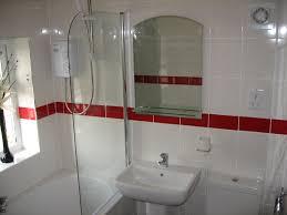 fancy bathroom tile border for diffe usage simple window plus fresh flower decor above