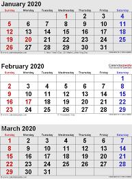 February 2020 Calendar Template Printable February 2020 Calendars For Word Excel Pdf