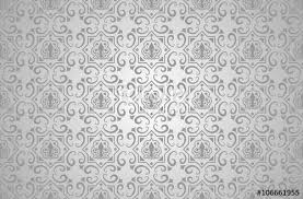 Silver Pattern Impressive Pattern Background Silver Repetitive Tiled Texture Vector
