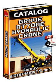 Catalogue Grove Rt700e Rough Terrain Hydraulic Crane