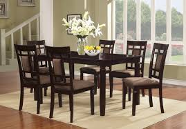 black dining room set round. 58 Most Tremendous Round Table And Chairs Black Dining Room Set For 6 Vision A