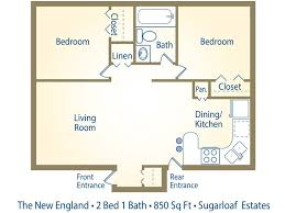 >2 bedroom 2 bath floor plans bedroom at real estate 2 bedroom 2 bath floor plans photo 1