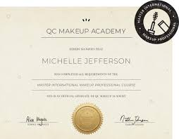 qc s professional makeup certification
