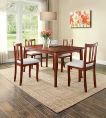 Rubberwood Kitchen Table Better Homes And Gardens Ashwood Road Dining Table Brown Cherry