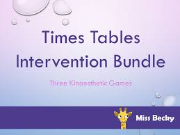 Times Tables Maths Intervention Bundle - 3 Games Included by Miss ...