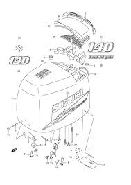 suzuki outboard parts df 140 parts listings browns point 2005 Suzuki Outboard Wiring Diagram suzuki df 140 fig 48a engine cover Suzuki DT55 Outboard Wiring Diagrams