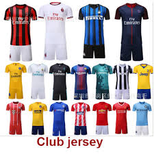 Juventus Club Atletico Barcelona Jersey Paris Real United Manchester Madrid Football