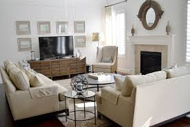 antique white tv console with traditional family room and area rug coffee table fireplace neutral rooms on antique white wood wall art with antique white tv console with traditional family room and area rug