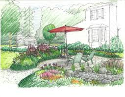 Small Picture Sketch of the Week Kirkland Garden Design