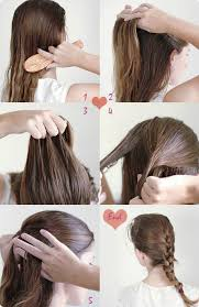 Hairstyle Easy Step By Step step by step hairstyles for school girls 9 easy and cute french 2200 by stevesalt.us
