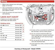 honeywell ac thermostat wiring wiring diagram value honeywell thermostat wiring instructions diy house help honeywell ac thermostat wiring honeywell ac thermostat wiring
