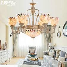 vintage tiffany style chandeliers lamp with 110v 220v 3 5 6 8 e27 base lights for living room bedroom chandelier black chandeliers from dpgkevinfan