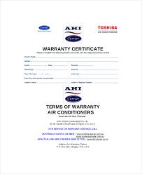 Printable Guarantee Certificate Templates Certificate