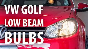 Mk6 Gti Brake Light Bulb How To Change Low Beam Headlight Bulbs Vw Golf Mk6