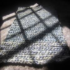 My First Rectangular Rag Rug. Another Something To Learn From | G-Ma  Ellen's Hands  Adventures in Crochet and Knit