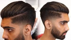 Slicked Back Hair Style Mens Modern Slick Back Hairstyle & Haircut Tutorial 2017 Mens 1271 by stevesalt.us