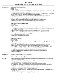 Advanced Resume Advanced Engineer Resume Samples Velvet Jobs