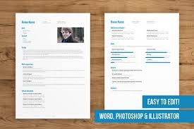 2 Page CV Template easy to edit - Resumes