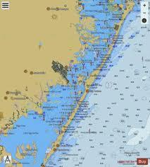 Sandy Hook To Little Egg Harbor New Jersey Marine Chart