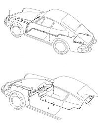 Porsche 911 1987 1989 boot floor plate starter battery