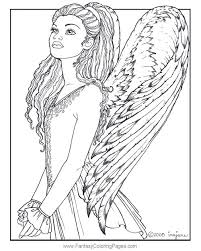 Angel Coloring Pages For Adults Coloring Page Angel Visits Shepherds