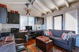 beautiful classic home office. Bright Beautiful Home Office Interior Design With Classic American Style. Stock Photo - 41629790 T