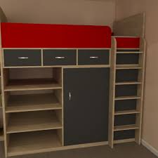 high bed with storage. Perfect High Phoenix High Sleeper Storage Bed To With N