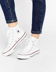 converse all star high tops. converse all star high top white sneakers at asos.com tops g