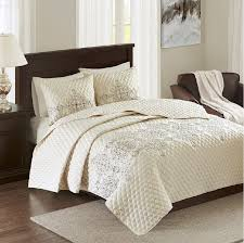 81 best Bedspreads and Coverlets images on Pinterest | Bed linen ... & This diamond quilted coverlet features intricate medallion embroidery in  deep charcoal, aqua and light grey colors for a simple yet ... Adamdwight.com