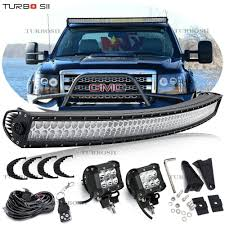 99 Tahoe Light Bar Ad Ebay Curved 300w 52 Combo Led Light Bar Offroad For 93